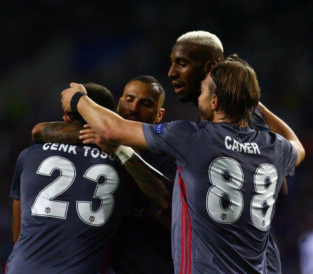 Cenk Tosun'un Porto'ya attığı gol! Cenk Tosun'un golü sosyal medyada olay oldu
