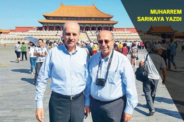 Numan Kurtulmuş Muharrem Sarıkaya Kültür ve Turizm Bakanlığı Çin Pekin