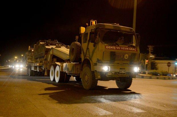 Suriye sınırındaki birliklere takviye!