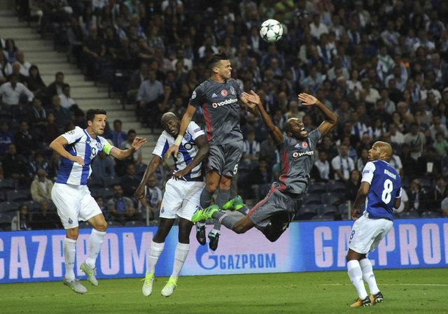 Dış basında Porto-Beşiktaş maçının yankıları