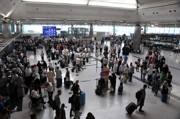 İstanbul'un havalimanları zirvede