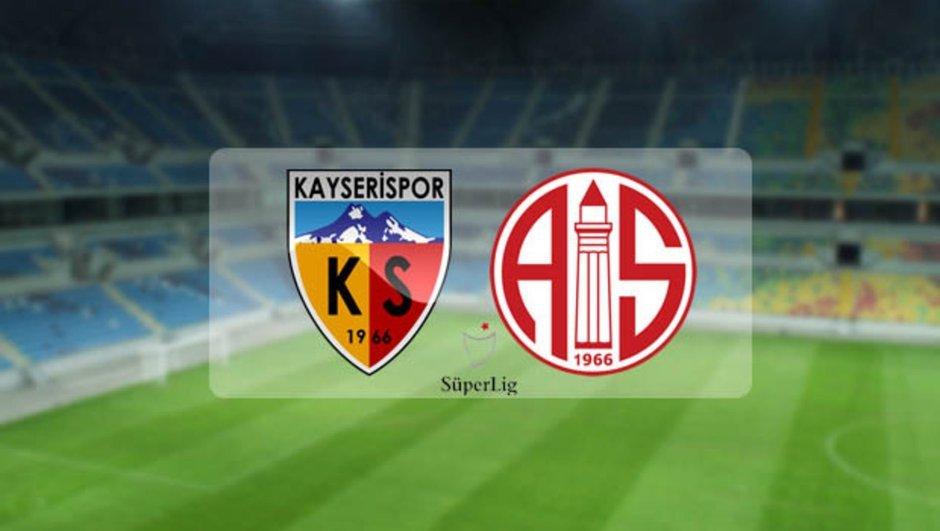 Kayserispor Antalyaspor