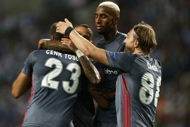 Beşiktaş, Porto karşısındaki tarihi zaferi böyle aldı!