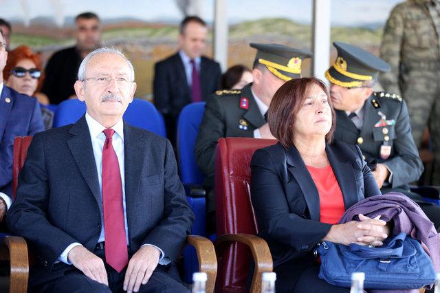 Piyade Er Kerem Kılıçdaroğlu yemin törenine katıldı
