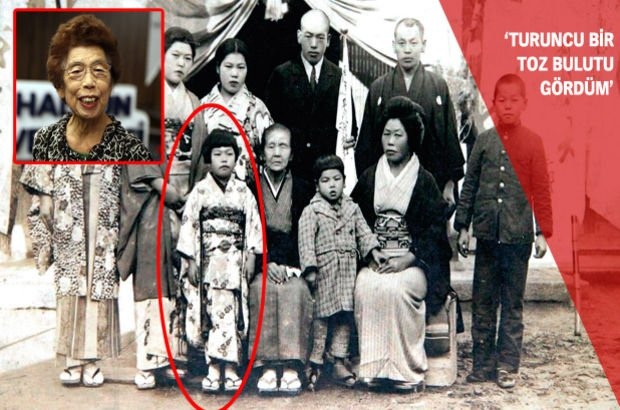 Hiroşima Japonya Kızılay Atom bombası  Sadae Kasaoka