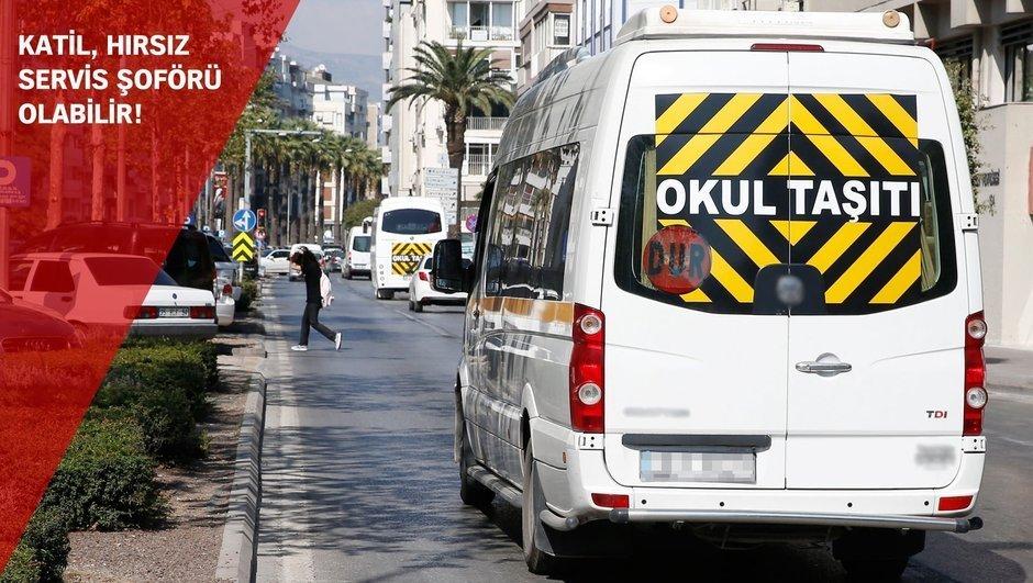 İstanbul servis şoförü sabıka kaydı