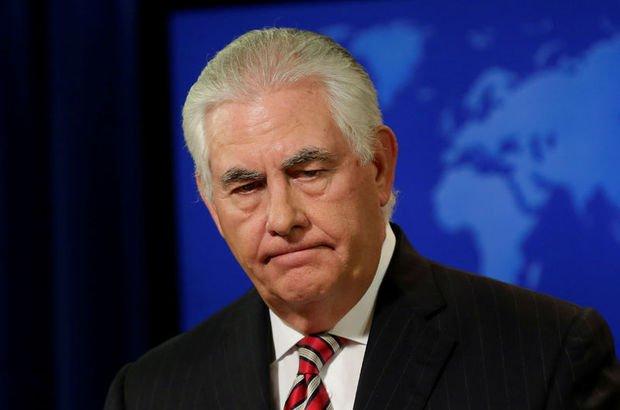 ABD Kuzey Kore  Rex Tillerson