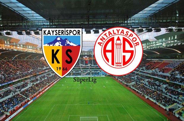 Kayserispor-Antalyaspor maçı saat kaçta, hangi kanalda?