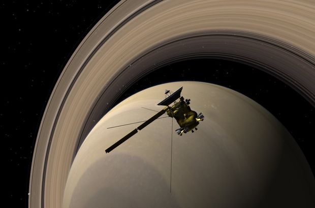 NASA Cassini Satürn