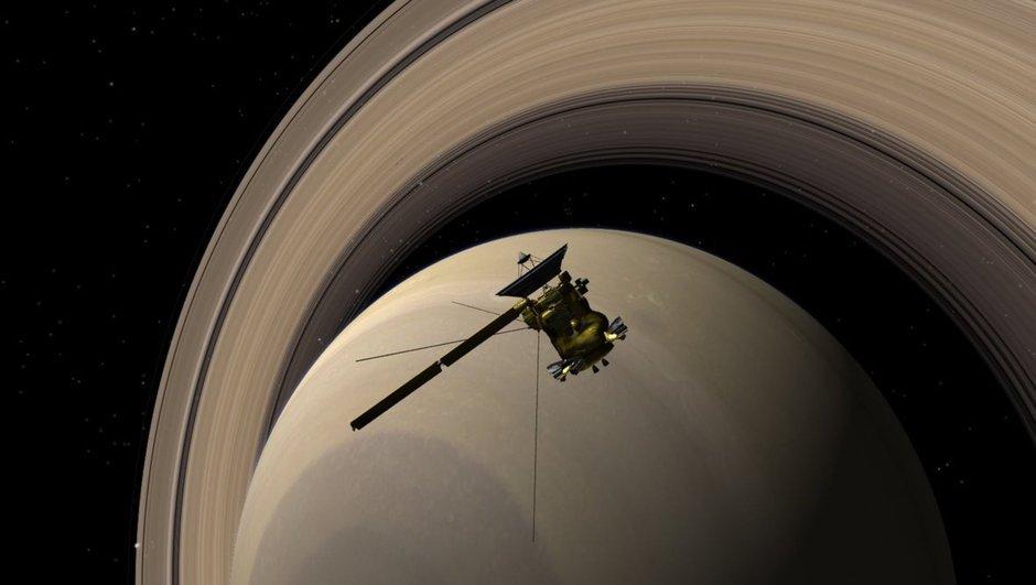 NASA Cassini Satürn