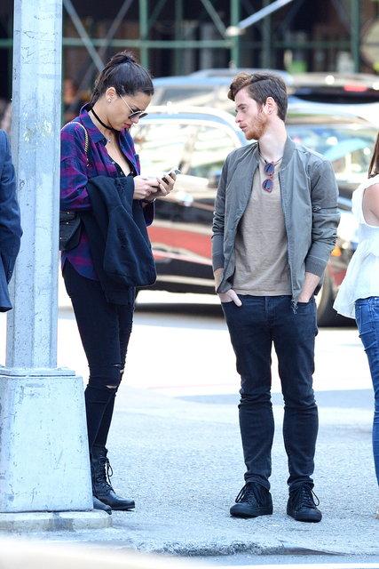 Adriana Lima ve Metin Hara New York sokaklarında