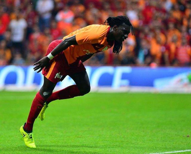 Galatasaraylı Bafetimbi Gomis, kulüp tarihinin en hızlı başlangıç yapan 2. futbolcusu oldu