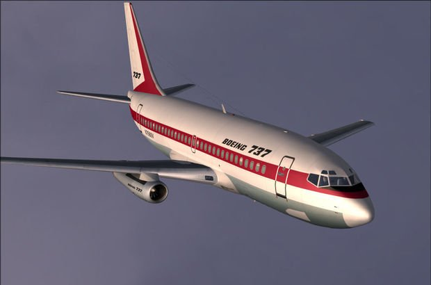 Boeing 737, yolcu uçakları
