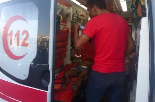 Beşiktaş'ta denize giren kişi boğulmaktan son anda kurtarıldı