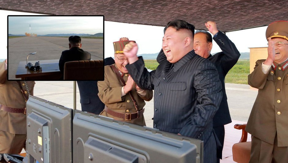 Füze denemeleri dünyayı endişelendirirken, Kim Jong un'u eğlendiriyor