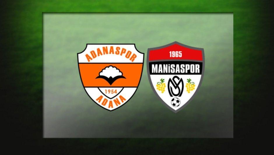 Adanaspor - Manisaspor