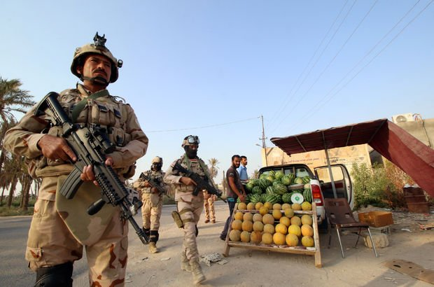 Irak ordusu Suriye sınırında DEAŞ'a karşı operasyon başlattı!