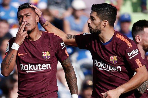 Barça, Paulinho'yla güldü!