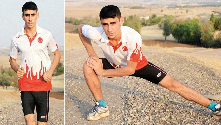 PKK Diyarbakır  Dünya Yıldızlar Dağ Koşusu Şampiyonası Şirin Karabal