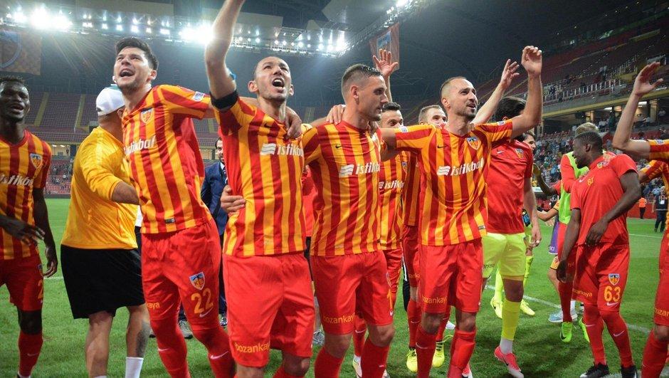 Kayserispor'da yüzler gülüyor!