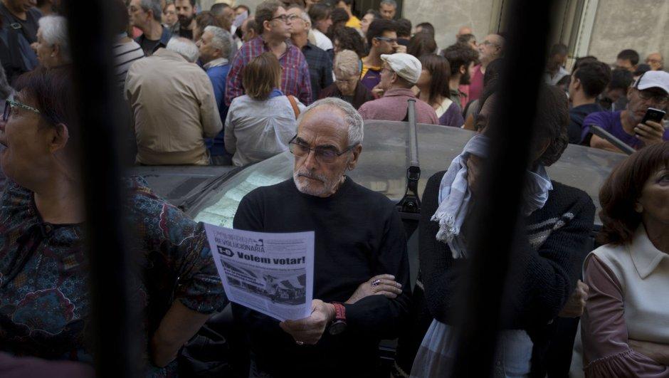 Katalonya İspanya referandum