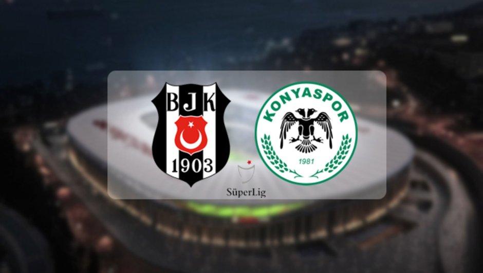 Beşiktaş Konyaspor maçı