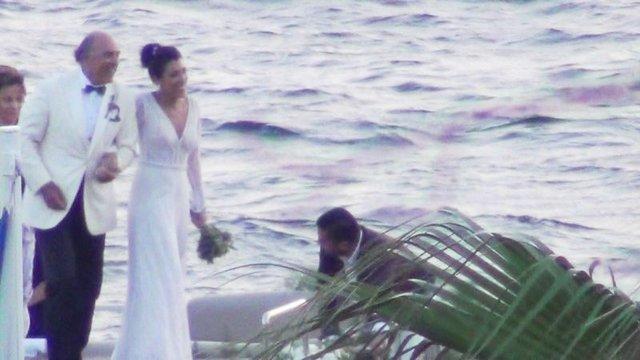 Coca-Cola'nın Dünya Başkanı Muhtar Kent'in kızı Selin Kent evlendi