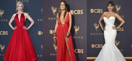 69. Emmy Ödülleri kırmızı halısından görüntüler