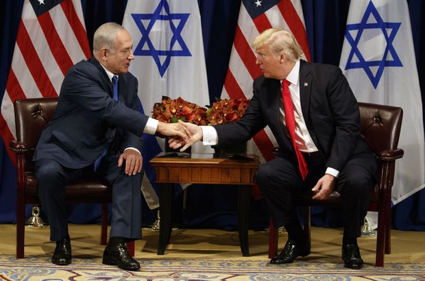 Trump ve Netanyahu'dan Filistin görüşmesi