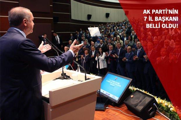 AK Parti'de 7 ilin yeni il başkanları belli oldu!
