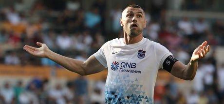 Trabzonspor'un yıldızı beraberliğe sevinmedi