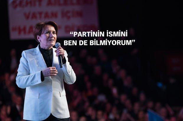 Meral Akşener yeni parti için tarih verdi