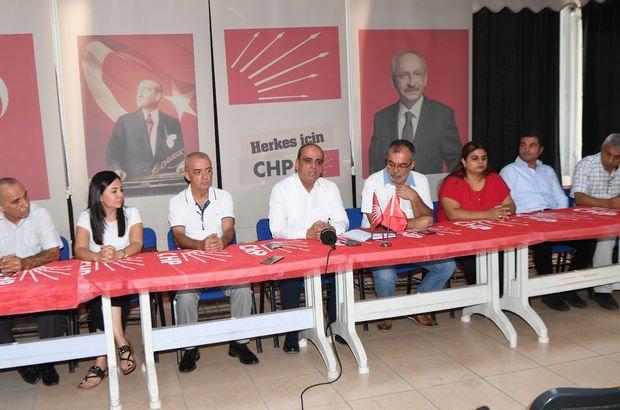 CHP Çukurova İlçe Başkanı Yüksel Erdoğan ve 9 yönetici istifa etti