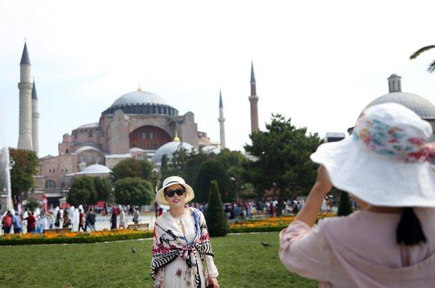 İstanbul turist sayısı