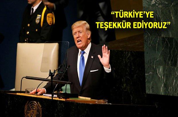 Donald Trump, 72. Birleşmiş Milletler Genel Kurulu'nda konuştu!