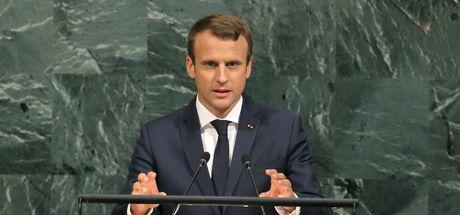 Macron BM kürsüsünden seslendi: Arakanlı Müslümanlar'a yönelik etnik temizlik durdurulmalı