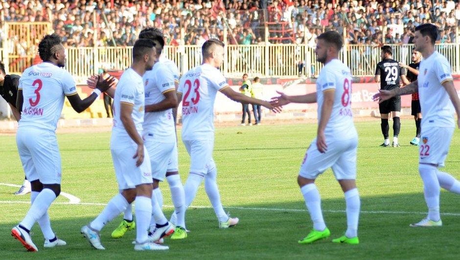 Van Büyükşehir Belediyespor: 0 - Kayserispor: 1
