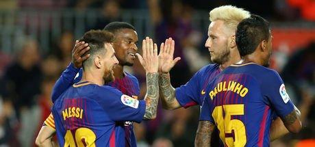 Barcelona: 6 - Eibar: 1