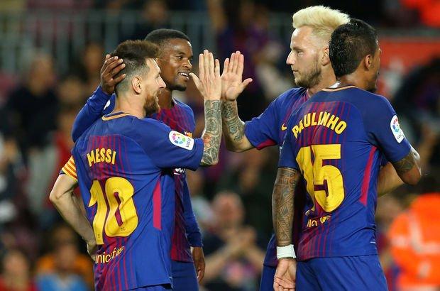 Barça gol olup yağdı! Messi...