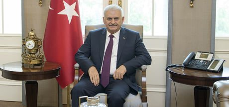 Başbakan Yıldırım, Çankaya Köşkü'nde kuvvet komutanları ile görüştü
