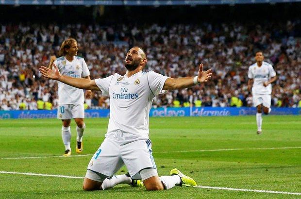 Benzema 2021'e kadar Real'de!