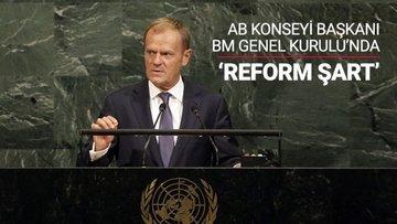 AB, BM'de reform istedi