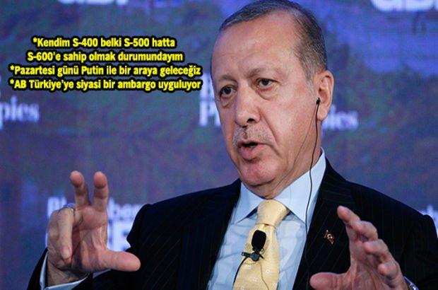 Cumhurbaşkanı Erdoğan'dan New York'ta açıklamalar