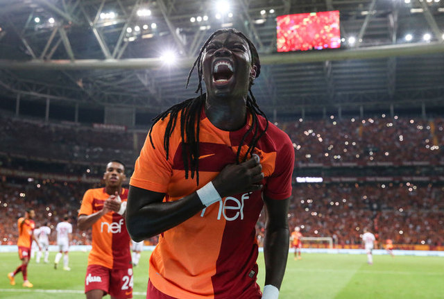 Gomis'in Galatasaray Televizyonu'na verdiği röportaj