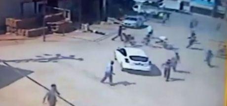 Adana'da trafik polisinin 3 kişiyi öldürmesi kamerada