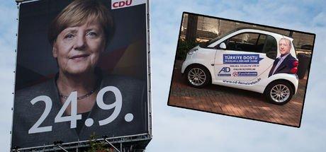 Almanya seçimlerine 3 gün kaldı: 'Erdoğan-Mobil' Alman sokaklarında!