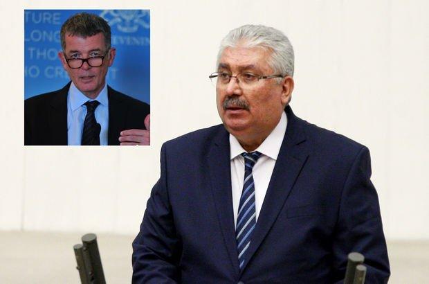 MHP ile İngiliz Büyükelçi arasındaki tartışma büyüdü: Shut Up!