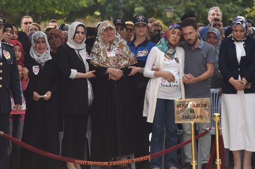 Şehit Özel Harekat Polisi Abdullah Yıldırım için Adana Emniyet Müdürlüğü'ndetören düzenlendi.