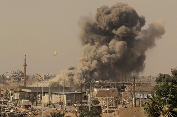 Suriye'de şiddetli hava saldırıları sürüyor!