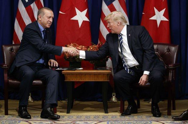 Cumhurbaşkanı Erdoğan ve Trump mutabık kaldı